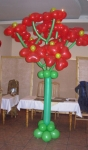 18. Цветочное дерево. Шары-латекс,гелий+хай-флот - 2000р.