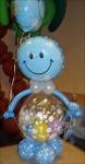 """3.Человечек """"Шар в шар""""(голубой,воздух)-900р."""