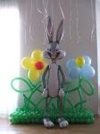 17. Заяц на поляне(воздух,гелий)-1300р.