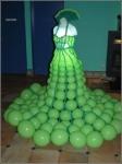44. Платье(воздух).