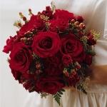 1. Букет невесты. Роза 21шт.,зелень - 3000р.