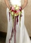 """6. Букет невесты """"Контраст"""". Розы - 3500р."""
