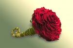 """9. Букет невесты """"Роза бордо"""" - 5000р."""